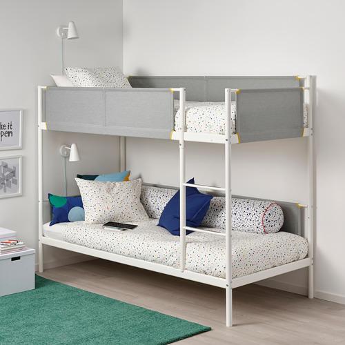 VITVAL - bunk bed frame, white/light grey   IKEA Hong Kong and Macau - PE722122_S4