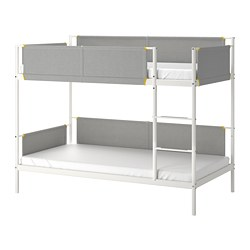 VITVAL - bunk bed frame, white/light grey | IKEA Hong Kong and Macau - PE722121_S3