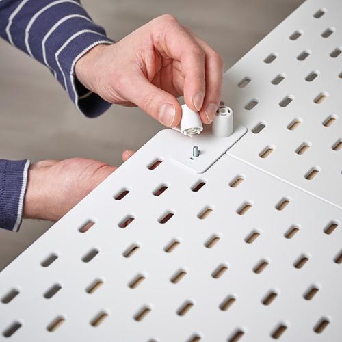 SKÅDIS - SKÅDIS洞洞板連接配件, 白色   IKEA 香港及澳門 - PE817528_S4