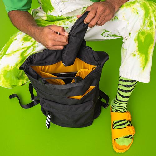 VÄRLDENS - travel tote bag, 16 l, black | IKEA Hong Kong and Macau - PE817542_S4