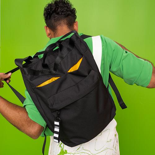 VÄRLDENS - 旅行用手提袋, 16 l, 黑色  | IKEA 香港及澳門 - PE817543_S4