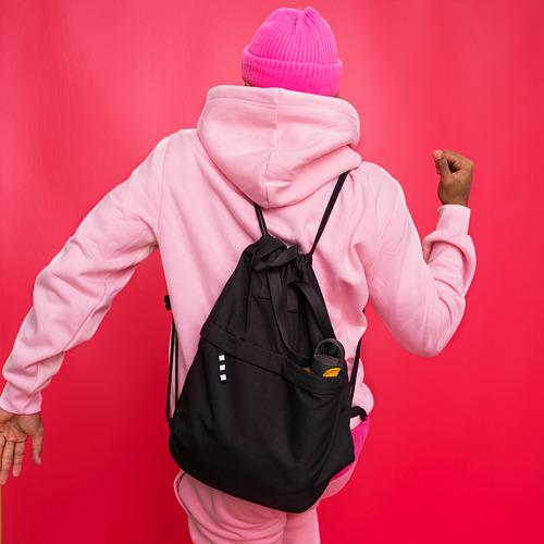 VÄRLDENS - gym bag, black | IKEA Hong Kong and Macau - PE817549_S4