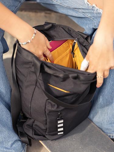 VÄRLDENS - travel tote bag, 16 l, black | IKEA Hong Kong and Macau - PE817589_S4