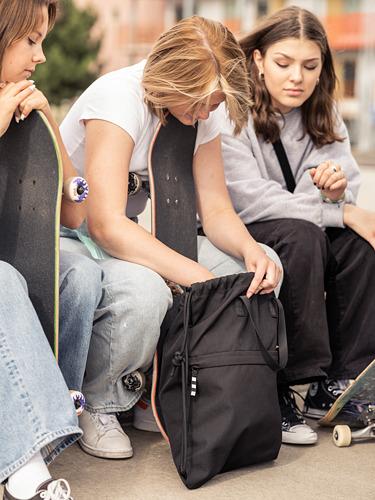 VÄRLDENS - gym bag, black | IKEA Hong Kong and Macau - PE817592_S4