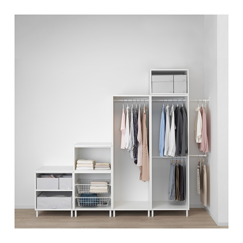 PLATSA - wardrobe, white Fonnes/Skatval dark grey | IKEA Hong Kong and Macau - PE672728_S4