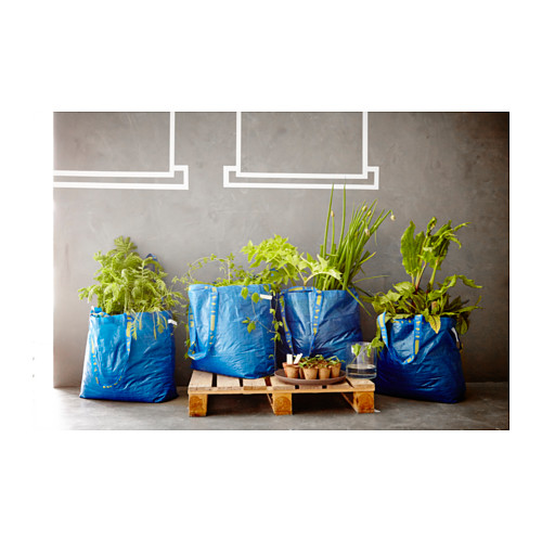 FRAKTA - 購物袋,中, 藍色   IKEA 香港及澳門 - PH129310_S4