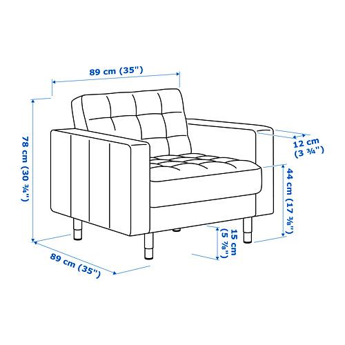 LANDSKRONA 扶手椅