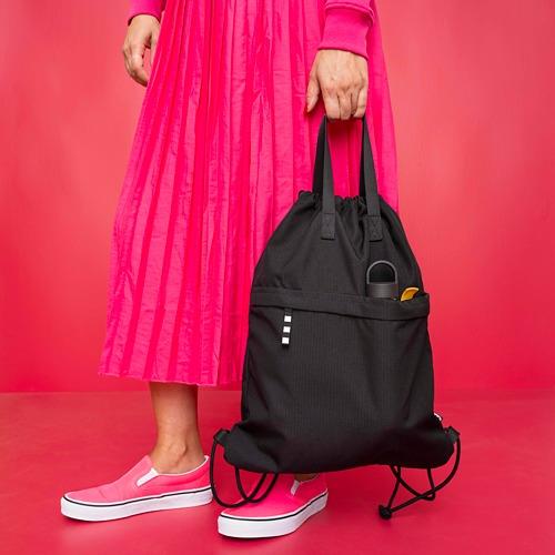 VÄRLDENS - gym bag, black | IKEA Hong Kong and Macau - PE817632_S4
