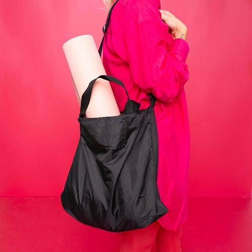 RÄCKLA - bag, foldable, 48x36 cm, black | IKEA Hong Kong and Macau - PE817638_S4