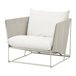 HAVSTEN - armchair, in/outdoor, beige | IKEA Hong Kong and Macau - PE672778_S3