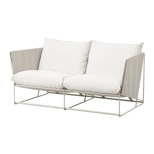 HAVSTEN - 2-seat sofa, in/outdoor, beige | IKEA Hong Kong and Macau - PE672782_S4