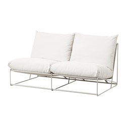 HAVSTEN - 2-seat sofa, in/outdoor, without armrests/beige | IKEA Hong Kong and Macau - PE672789_S3