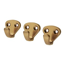 KVASP - hook, brass-colour | IKEA Hong Kong and Macau - PE672772_S3