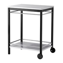 KLASEN - trolley, outdoor, stainless steel | IKEA Hong Kong and Macau - PE340880_S3