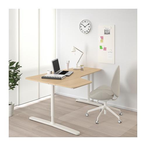 BEKANT corner desk left