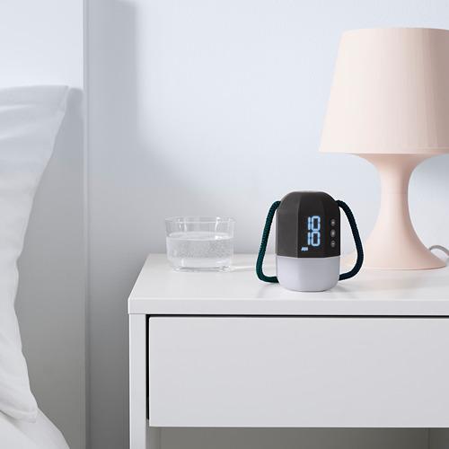 FNURRA - alarm clock/wake-up light, grey | IKEA Hong Kong and Macau - PE763438_S4