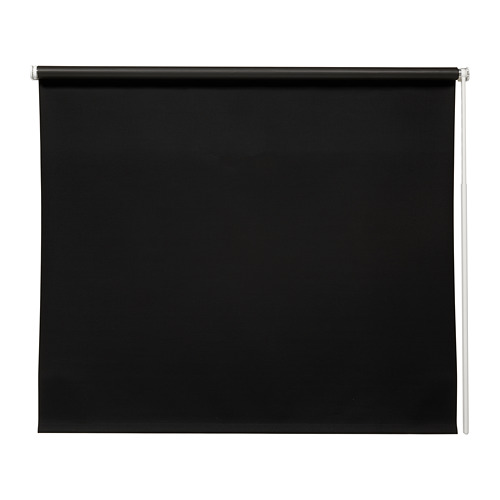 FRIDANS - block-out roller blind, 120x195cm, black | IKEA Hong Kong and Macau - PE672885_S4