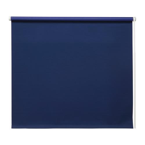 FRIDANS - block-out roller blind, 100x195cm, blue | IKEA Hong Kong and Macau - PE672899_S4