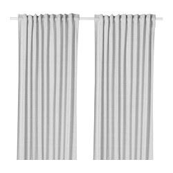 HANNALILL - 窗簾,一對, 灰色 | IKEA 香港及澳門 - PE672909_S3