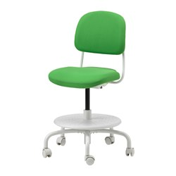 VIMUND - children's desk chair, bright green | IKEA Hong Kong and Macau - PE622960_S3