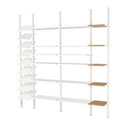 ELVARLI - 4 sections, white/bamboo | IKEA Hong Kong and Macau - PE622976_S3