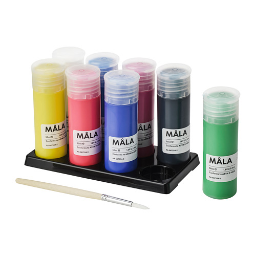 MÅLA - 顏料, 多種顏色 | IKEA 香港及澳門 - PE763481_S4