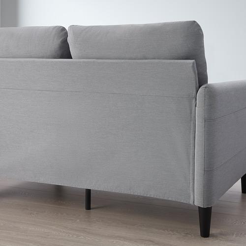 ANGERSBY - 兩座位梳化, Knisa 淺灰色 | IKEA 香港及澳門 - PE763489_S4