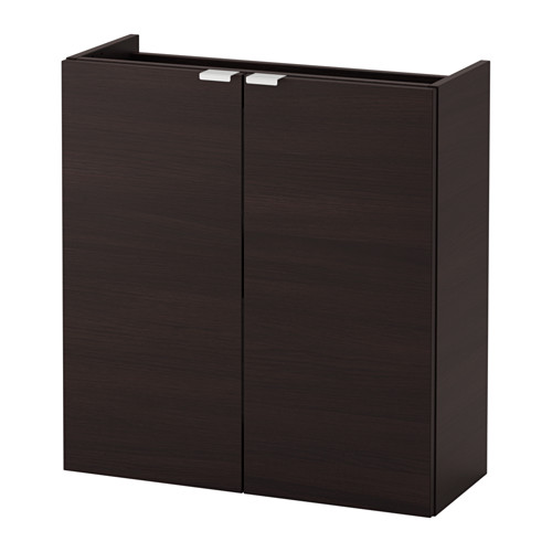 LILLÅNGEN - wash-basin cabinet with 2 doors, black-brown | IKEA Hong Kong and Macau - PE625198_S4