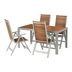 SJÄLLAND - 戶外檯連躺椅組合, 淺褐色/淺灰色 | IKEA 香港及澳門 - PE673009_S3