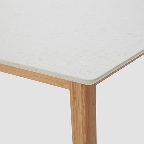 STENARED - 餐檯, 石紋 石英/竹 | IKEA 香港及澳門 - PE763524_S4