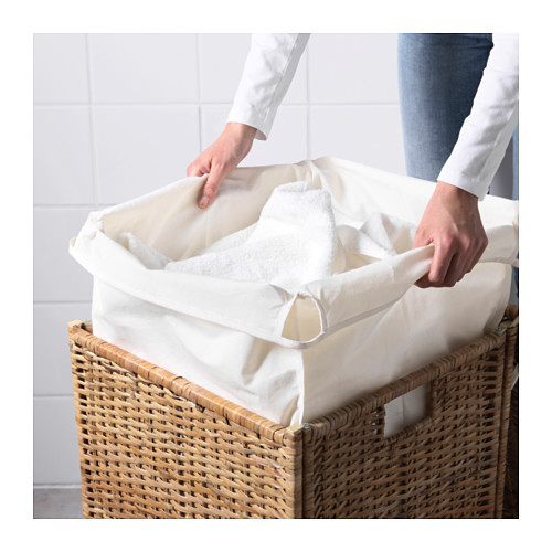 BRANÄS 內附裡布洗衣籃