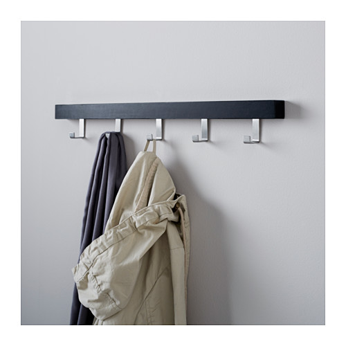 TJUSIG - hanger for door/wall, black | IKEA Hong Kong and Macau - PE558482_S4