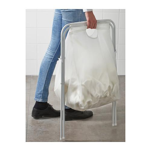 JÄLL - laundry bag with stand, white | IKEA Hong Kong and Macau - PE558496_S4