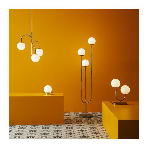 SIMRISHAMN - table/wall lamp, chrome-plated/opal white glass | IKEA Hong Kong and Macau - PH167979_S4