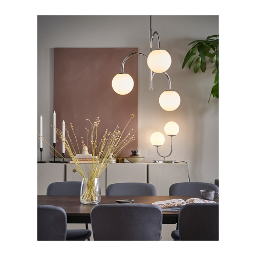 SIMRISHAMN - 座檯燈, 鍍鉻/奶白色 玻璃 | IKEA 香港及澳門 - PH168817_S4