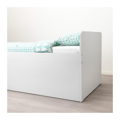 SLÄKT 床架連抽屜及床條板