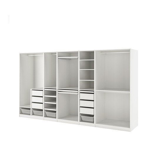PAX - 衣櫃組合, 白色 | IKEA 香港及澳門 - PE818104_S4