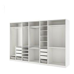 PAX - 衣櫃組合, 白色   IKEA 香港及澳門 - PE818106_S3