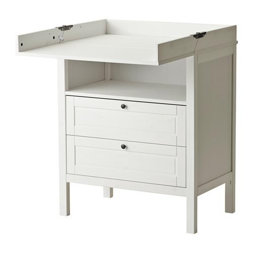 SUNDVIK - 更換尿布檯 / 抽屜櫃, 白色 | IKEA 香港及澳門 - PE424328_S4