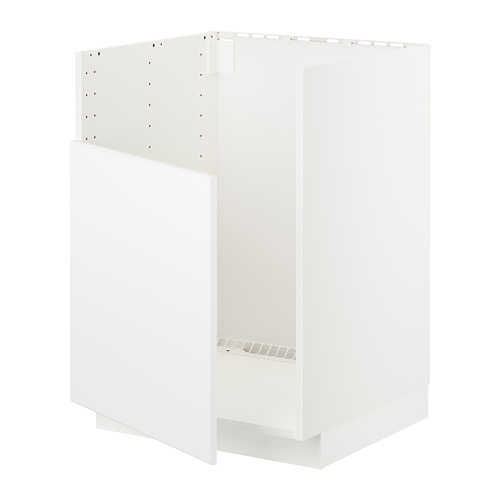 METOD - base cabinet f BREDSJÖN sink, white/Kungsbacka matt white | IKEA Hong Kong and Macau - PE722488_S4