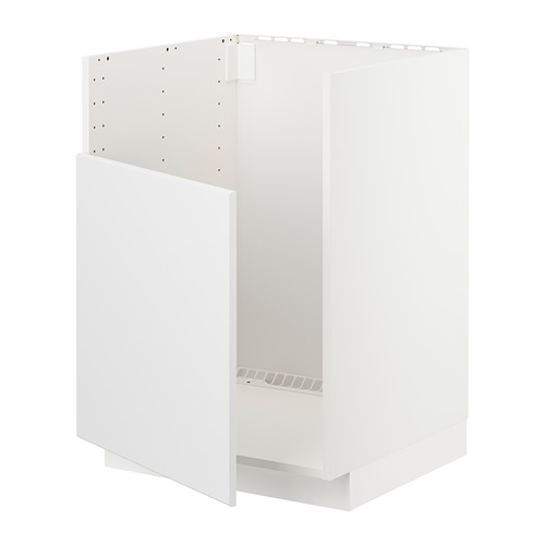 METOD - base cabinet f BREDSJÖN sink, white/Kungsbacka anthracite | IKEA Hong Kong and Macau - PE722499_S4