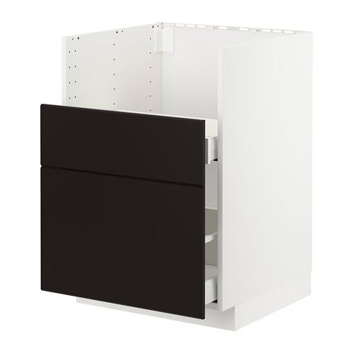 METOD/MAXIMERA - bc f BREDSJÖN sink/2 fronts/2 drws, white/Kungsbacka anthracite | IKEA Hong Kong and Macau - PE722501_S4