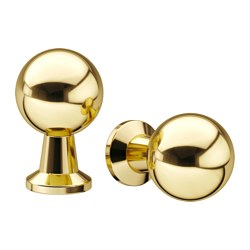 BAGGANÄS - knob, brass-colour | IKEA Hong Kong and Macau - PE623169_S3