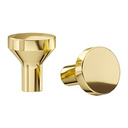 BAGGANÄS - knob, brass-colour | IKEA Hong Kong and Macau - PE623173_S3