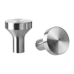 BAGGANÄS - knob, stainless steel | IKEA Hong Kong and Macau - PE623154_S3
