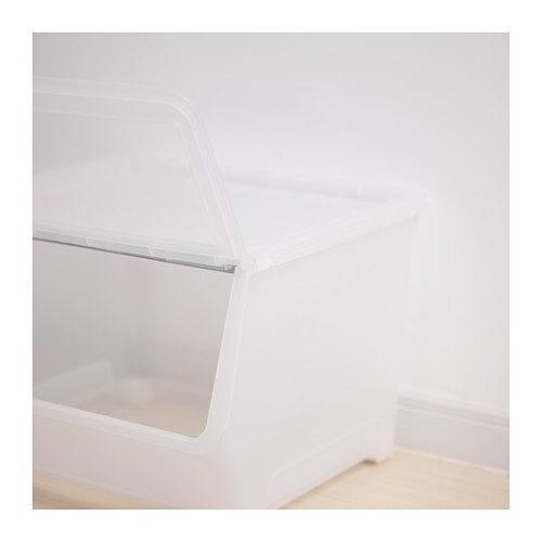 FIRRA - box with lid, transparent | IKEA Hong Kong and Macau - PE623239_S4