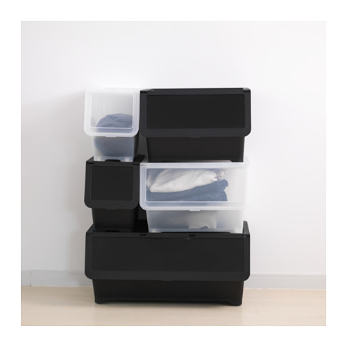 FIRRA - box with lid, transparent | IKEA Hong Kong and Macau - PE623238_S4
