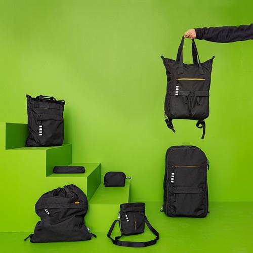 VÄRLDENS - 旅行用手提袋, 16 l, 黑色  | IKEA 香港及澳門 - PE818202_S4