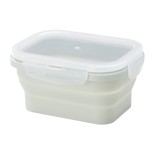 FJÄRMA - food container, collapsible, green, 350ml | IKEA Hong Kong and Macau - PE673174_S4