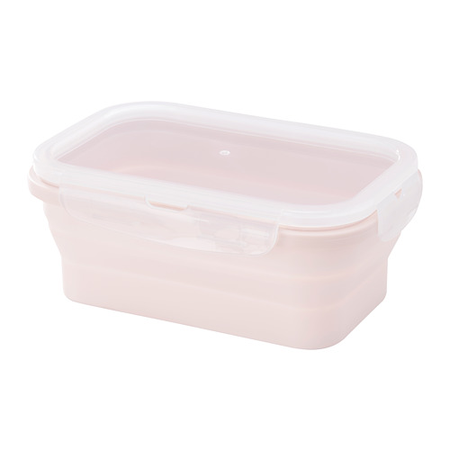 FJÄRMA - food container, collapsible, pink, 540ml | IKEA Hong Kong and Macau - PE673176_S4